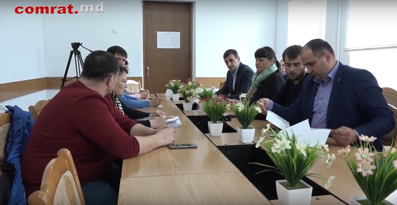 Состоялось заседание социальной комиссии примэрии Комрата