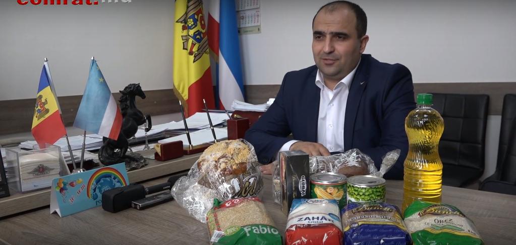 920 жителей Комрата получили продуктовые пакеты к Пасхе