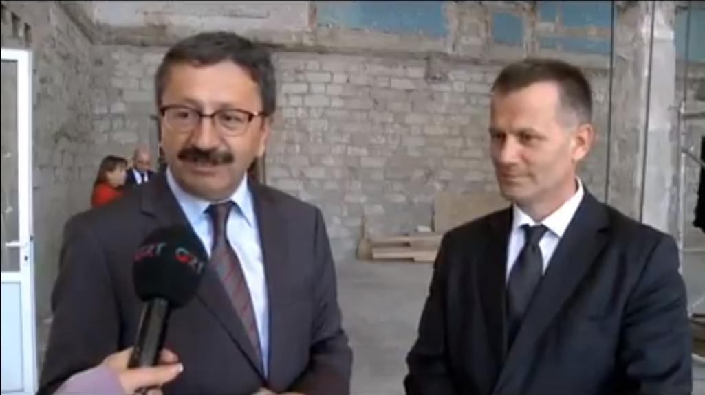 Делегация из Турции посетила объекты в Комрате, строящиеся при поддержке турецкого государства (видео GRT)