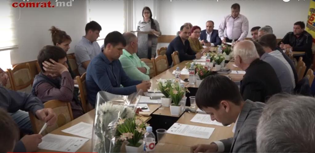 Заседание муниципального совета м.Комрат от 27 апреля 2018г (видео)