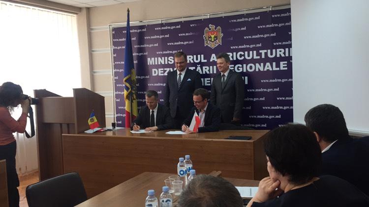 Примэрия Комрата подписала договор с Польским Фондом Солидарности о  ревитализации детсада №6