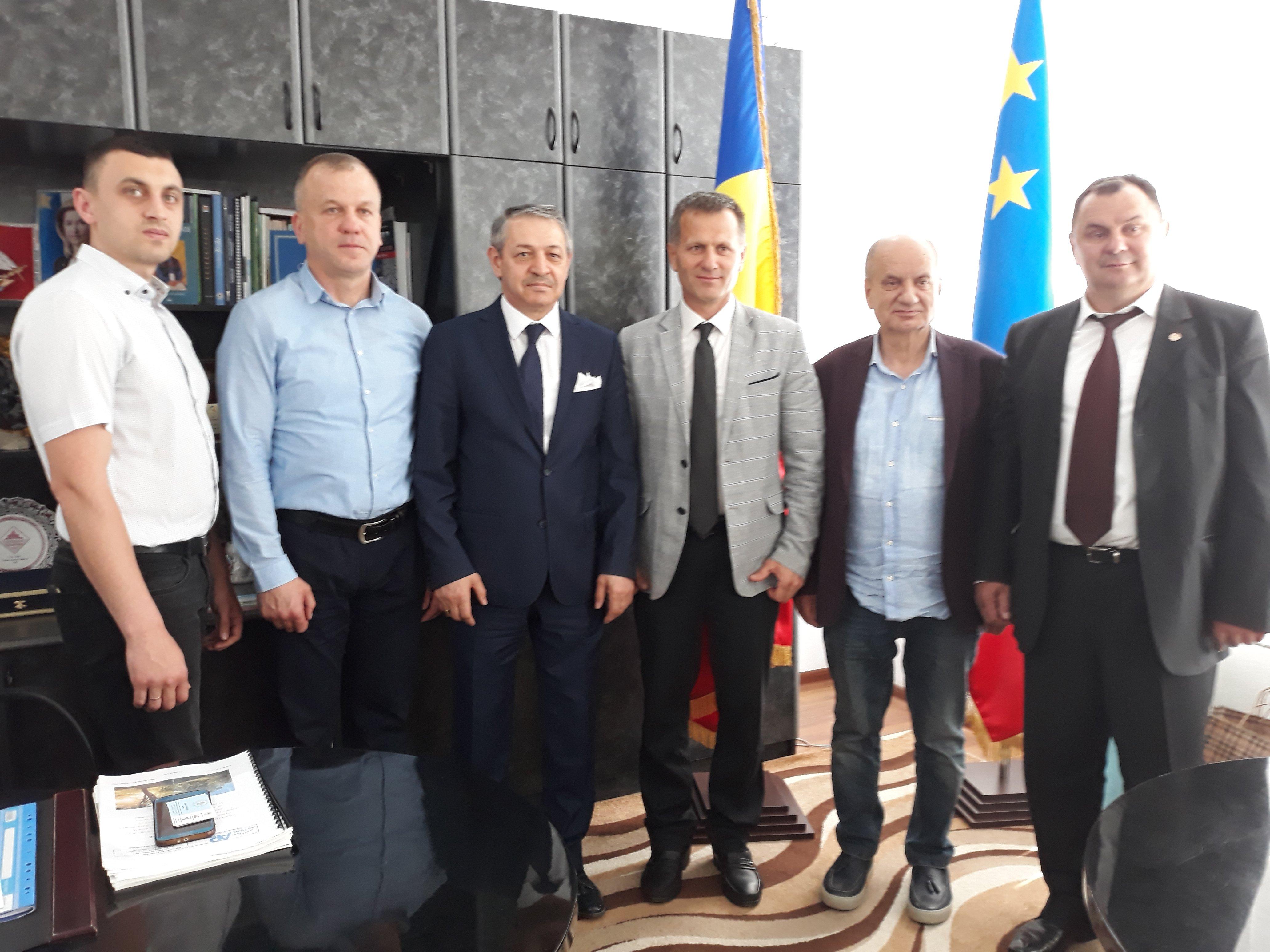 Сергей Анастасов провел встречу с президентом Федерации бокса Республики Турция