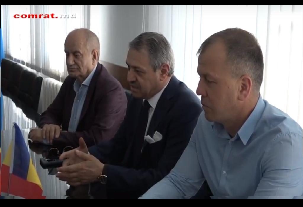 Развитие бокса в Комрате обсудили представители муниципальных властей и Федерации бокса Турции(видео)