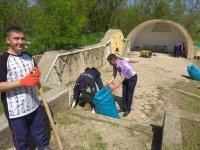 Руководители Комрата приняли участие в акции «Начни с себя во благо общества и города»