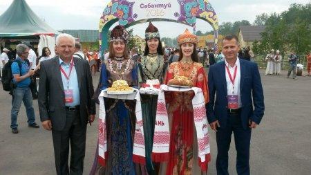 Примар Комрата принял участие в праздновании национального праздника Сабантуй Республики Татарстан.