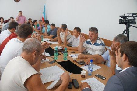 Заседание муниципального совета Комрат от 05 07 16г. (фоторепортаж)