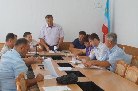 Состоялась встреча советников муниципального совета Комрат с председателем постоянной комиссии НСГ Иваном Бургуджи.