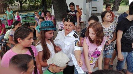 Сотрудниками полиции были проведены мероприятия превентивного характера в оздоровительных лагерях отдыха «Чайка» с.Кирсово и «Олимпиец» с.Конгазчик