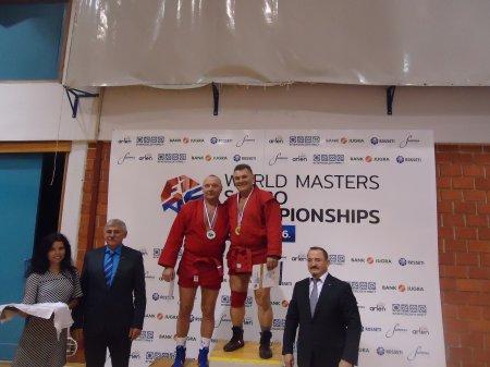 Петр Куру стал победителем Чемпионата мира по борьбе самбо среди ветеранов