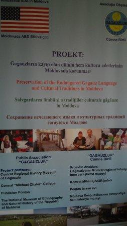 В Комрате презентовали новый проект по сохранению гагаузского языка и культуры