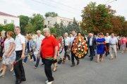 Мемориал Славы в Комрате - возложение цветов 23 августа 2016г  (фоторепортаж)