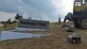 В канун Дня Города в Комрате установили стелу с символом города (фоторепортаж)